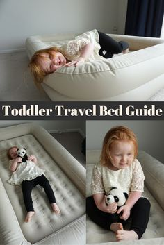 Toddler travel bed guide: Don't pay for extra beds or cribs when travelling with small children. Read my guide on toddler travel beds and you'll see why we swear by this simple item when travelling with our kids!