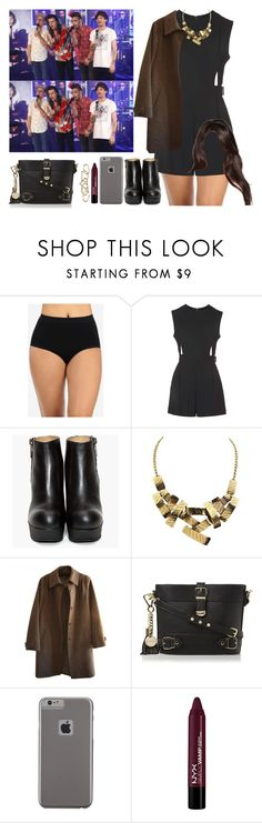 """Watching the boys perform at 'Good Morning America' in L.A. -----> *Cynthia."" by imaginegirlsdsos ❤ liked on Polyvore featuring Topshop, A.P.C., Dune, Case-Mate, NYX and Zimmermann"