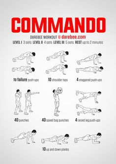 Commando Workout