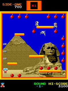BOMB JACK Playstation, Nintendo, Classic Video Games, Arcade, Entertaining, Random, Movie Posters, Consoles, Videogames