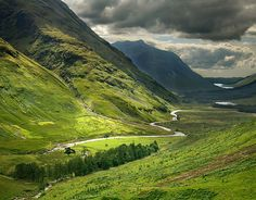 Glencoe, Scotland. Does it get more serene? Inspiration for ONCE UPON A HIGHLAND AUTUMN by Lecia Cornwall 6/17/14
