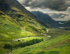 Glencoe, Scotland. Does it get more serene?