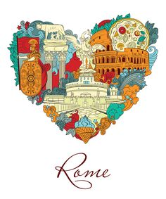 Ready to explore one of the most famous cities in Europe? Ready for real Italian gelato, pizza to die for and some proper espresso? Then you're ready for Rome! Rome, Travel Wallpaper, Travel Illustration, Places To Travel, Travel Destinations, Travel Design, Travel Aesthetic, Vintage Travel Posters, Wanderlust Travel