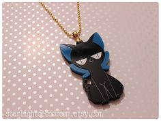 Suppi of Cardcaptor Sakura Acrylic Charm Necklace for Mahou Kei, Magical Girl Fashion, & Animal Familiar Lovers