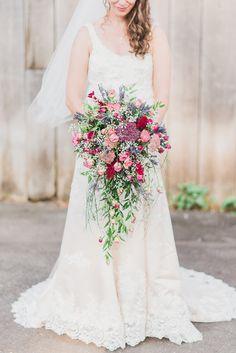 Gorgeous bouquet from La Maison Lavande: http://www.maisonlavande.ca/ Photo credit: https://www.pinterest.com/elisaphoto/