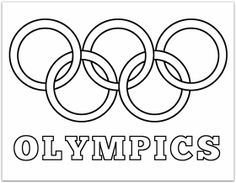 Olympic rings printable coloring pages olympics free winter for ancient summer adults - Painting & Coloring Olympic Idea, Olympic Games Sports, Olympic Gymnastics, Tumbling Gymnastics, Gymnastics Quotes, Gymnastics Problems, Cheerleading Quotes, Cheer Quotes, Acrobatic Gymnastics