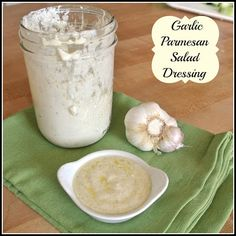 Gourmet Cooking For Two: Lower Calorie Garlic-Parmesan Salad Dressing