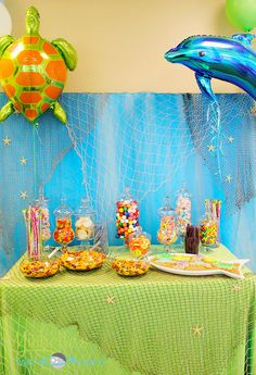 Mermaid Party #mermaid #party