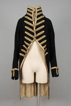 WOOL LIVERY COAT, 1810-1840. - Price Estimate: $400 - $600