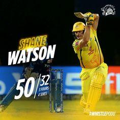 Shane Watson, Chennai Super Kings, Cricket, Baseball Cards, Big, Sports, Yellow, Hs Sports, Cricket Sport