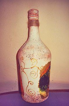 Cam şişe geri dönüşümü / Tutku - Bottle upcycle / Passion