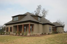 Craftsman House Plan Front Photo 01 - 024S-0024 | House Plans and More