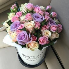 "617 Likes, 10 Comments - FLOWER LAB | цветы Москва (@labflower) on Instagram: ""Розы в наличии, доставка в течении 2 х часов"""