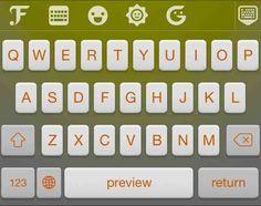 @m⃟i⃟l⃟l⃟y⃟ - FancyKey keyboard theme