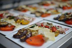 Gegrilde groenten en heerlijke Vitello Tonato