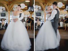 Matt Shumate Photography at Schweitzer Mountain Resort wedding reception bride and groom first dance