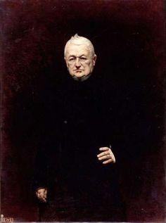 Louis-Adolphe Thiers (1797-1877), président de la République française. - Léon BONNAT