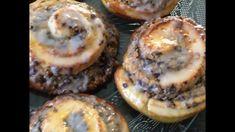 Leckere Nussschnecken / fluffig / Hefeteig / Backrezepte / Nussine_backt   kolac - YouTube Muffin, Breakfast, Youtube, Desserts, Food, Play Dough, Food Food, Bakken, Morning Coffee