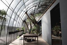 jungle tunnel - siu siu by divooezeinarchitects #taiwan #architecture