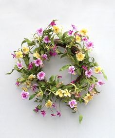 Pansy on Parade Wreath » So pretty!