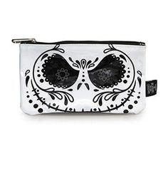 The Nightmare Before Christmas Sugar Skull Jack Coin/Cosmetic Bag
