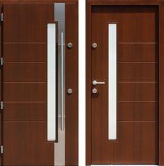 Drzwi wejściowe z kolekcji INOX model 441,1-441,11 produkcji AFB-Kraków