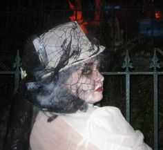 Ghost with Top Hat, Halloween 2009