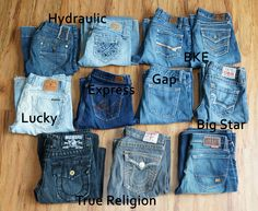 name brand jeans for women - Google Search | Best Fitting Jeans ...