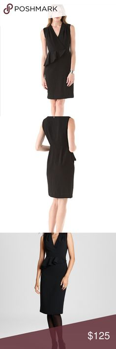 Black Tory Burch Brooklyn Dress Size 8 Simply beautiful Tory Burch dress in size 8. NWT and ready for New Years Eve or any other event. Tory Burch Dresses Midi