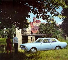 1967 calendar - Opel Rekord