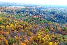 Sights And Sounds Drone Edition Unbelievable Scene Over Manistee River