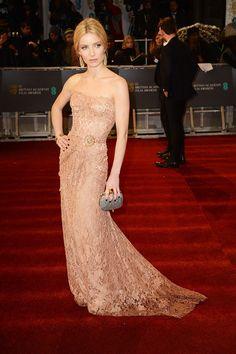 Premios Bafta 2013 - Annabelle Wallis