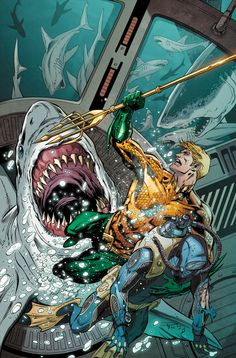 "Submariner, but not substandard! DC's ""Aquaman"" is good enough for CBR's top 100 for 2014 - just don't add water."