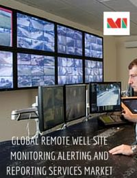 Remote well site video monitoring, alerting, reporting services are cited to enhance well site safety, security and productivity. These services will play an essential part in oil and gas operations particularly in offshore fields, where access to the well site is limited and is located in harsher environments.