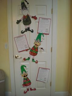 Elf glyph and Elf Applications-- a fun holiday writing/ craft project