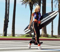 chanel surfboard? why, yes.