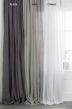 5 Prodigious Tips: Linen Curtains Blackout printed velvet curtains.Door Curtains Design mirror and curtains headboard. Shabby Chic Curtains, Farmhouse Curtains, Home Curtains, Rustic Curtains, Hanging Curtains, Modern Curtains, Grey Curtains Bedroom, Apartment Curtains, White Linen Curtains