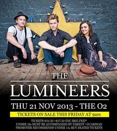 The Lumineers - 21 Nov - The O2, Dublin