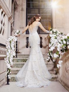 Moonlight Couture H1297 Spaghetti strap bridal gowns, sweetheart necklines, lace cap sleeve bridal gowns & more