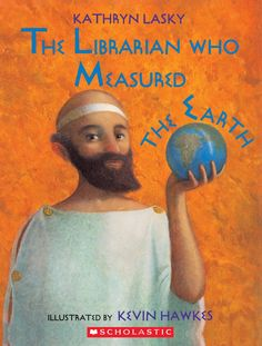 The Librarian Who Measured the Earth Activities/ Mini Unit Study We learned how to measure the circumference of the earth, yesterday. Or, at least, how it was done over 2000 years ago, in Kathryn Lasky's The Librarian Who Measured the Earth. Geometry Lessons, Teaching Geometry, Teaching Math, Teaching Ideas, Teaching Tools, Math Lessons, Math Literature, Math Books, Kid Books