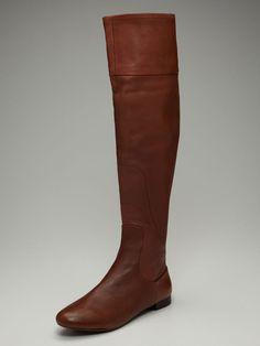 Rosegold   Gaddy Fold-Over Tall Boot  $149 Gilt