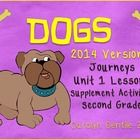 Dogs Journeys+Unit+1+Lesson+3+ Second+Grade 2014+Version Supplement+Activities Common+Core+Aligned  Pg.+3+Apple+Time!++-+unscramble+the+spelling+wo...