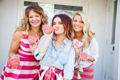 Shop online at Too Blue Boutique with FREE SHIPPING on all orders ! Valentine's Day is coming up & you need your perfect outfit!! #shoponline #musthave #love #v-day #valentinesday #lipstick #pink #red #denim #stripe #skirt #cookie #kissme
