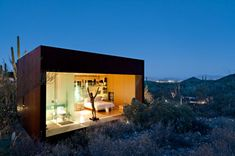 Desert Nomad House in Arizona by Rick Joy Architects | HomeDSGN, a daily source for inspiration and fresh ideas on interior design and home decoration.