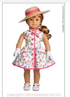 1950s American Girl doll prototype preview spoiler for new historical 2015