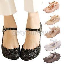 Soft Rubber Wedge Heel Flat Platform Sandals