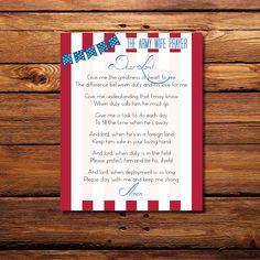 "Army Wife Prayer 11"" x 14"" Printable"
