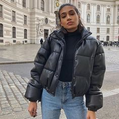 Winter Fashion Outfits, Fall Winter Outfits, Autumn Winter Fashion, New York Winter Fashion, New York Winter Outfit, Ootd Winter, Winter Clothes, Coats For Women, Jackets For Women