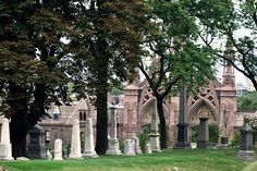 Picture of Green-Wood Cemetery in Brooklyn, New York