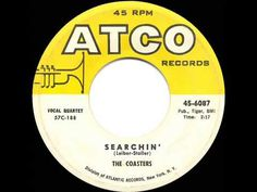 1957 HITS ARCHIVE: Searchin' - Coasters - YouTube